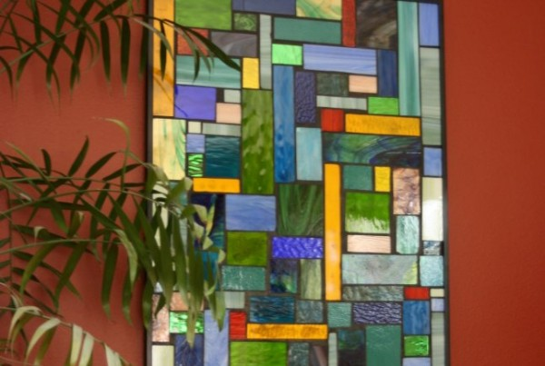 Cityscape Stained Glass